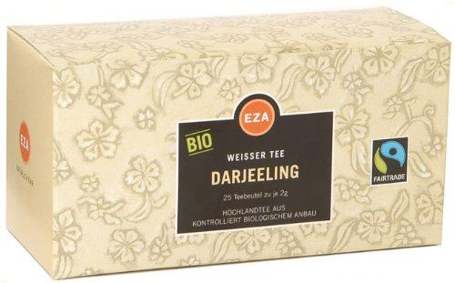 Fairtrade EZA Bio Darjeeling, Weißer Tee – 25Beutel
