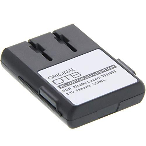 foto-kontor Akku für Alcatel-Lucent 300/400 Dect Ersatzakku Accu Batterie