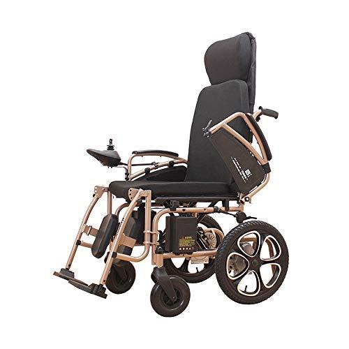 DS Rollstuhl Elektrischer Rollstuhl, älterer behinderter intelligenter Lithium-Batterie-Rollstuhl, Faltbarer tragbarer Sorgfalt-Roller ** -