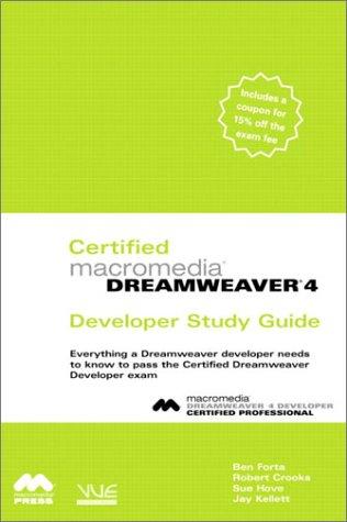 Certified Macromedia Dreamweaver 4 Developer Study Guide