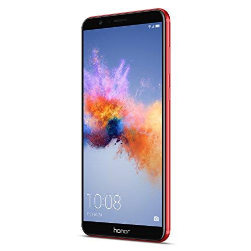 Honor 7X Smartphone débloqué 4G (Ecran : 5,9 Pouces - 64 Go - Double Nano-SIM - Android) Rouge