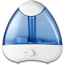 Qlima H 218 - Humidificador (30 cm, 16 cm, 30,7 cm, Azul, Color blanco)