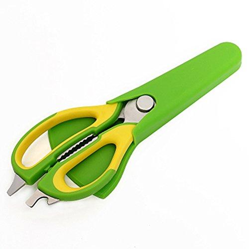 Apark küchenschere, Schere küchenschere,Multifunktions Küchenschere mit Anti-Rutsch-Griff und Hülle,Universal-Küchenschere/Mehrzweck-Schere/Allzweck-Schere/Vielzweck-Schere