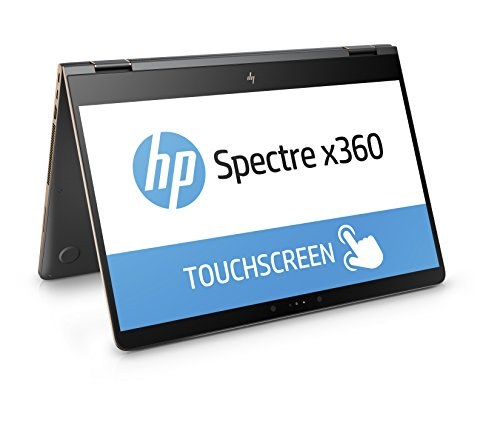 HP Spectre x360 (15-bl002ng) 39,6 cm (15,6 Zoll / UHD UWVA) Convertible Ultrabook (2-in-1 Laptop mit: Intel Core i7-7500U, 16 GB RAM, 256 GB SSD, NVIDIA GeForce 940MX, Windows 10 Home 64) Grau/Kupfer