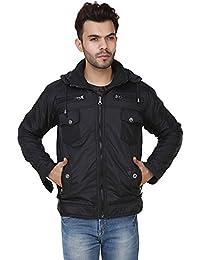 Derbenny High Quality Premium Black Nylon Reversible Jacket For Men