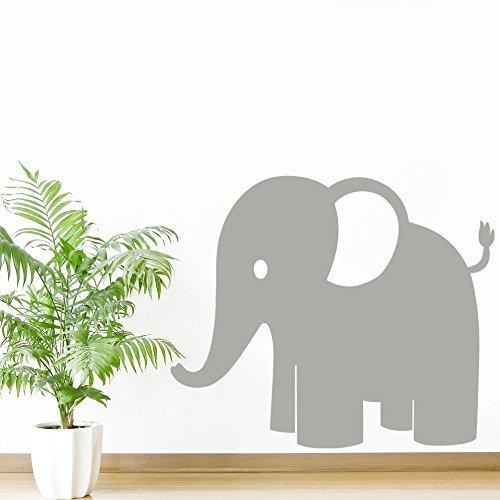 Childrens Elephant Jungle Animal Wall Sticker -