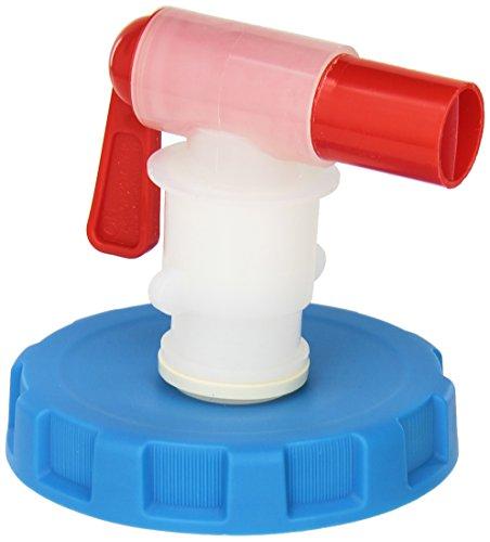 WaterBrick wb-0001VENTLESS Spigot Montage, passt beiden Wasser Container Größen, Blau/Weiß/Rot -