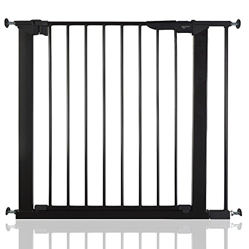 BabyDan Premier wahre Druck schwarz Schutzgitter Treppengitter Türschutzgitter 79,6 - 86,5cm