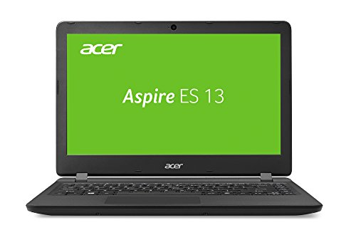 Acer Aspire ES 13 33,78 cm (13,3 Zoll HD matt) Laptop (Intel Pentium N4200, 4GB RAM, 1.000GB HDD, Intel HD, Win 10 Home) schwarz