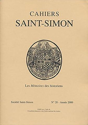 Cahiers Saint-Simon N° 28, 2000 : Les