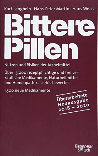 Bittere Pillen 2018-2020: Nutzen und Risiken der Arzneimittel -