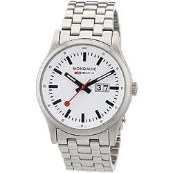 Mondaine Herren-Uhren Quarz Analog A669.30308.16SBM