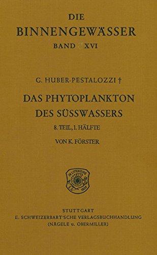 Das Phytoplankton im Süsswasser: Conjugatophyceae, Zygnematales und Desmidiales (excl. Zygnemataceae)