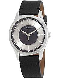 Victorinox Swiss Army 241804 Alliance - Reloj para Hombre (Piel Negra eba072d4a5ec