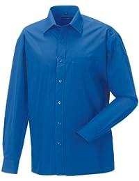 Z936 Langarm Popeline-Hemd Oberhemd