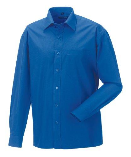 Russell Collection -  Camicia classiche  - Basic - Classico  - Maniche lunghe  - Uomo Aztec Blue