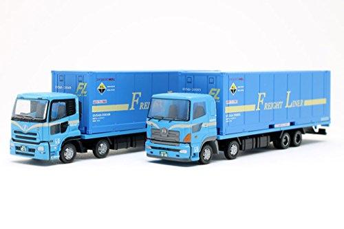 ザ・トラックコレクション2台セット 日本フレートライナー トラック・コンテナセット