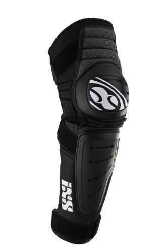 IXS Erwachsene Knee/Shin Guard Cleaver Knie- Und Schienbeinschoner, schwarz, L