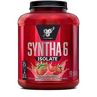 BSN 1.82Kg Syntha-6 Isolate Strawberry Milkshake Powder