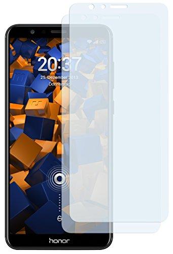 mumbi Schutzfolie kompatibel mit Huawei Honor 7X Folie klar, Bildschirmschutzfolie (2x)