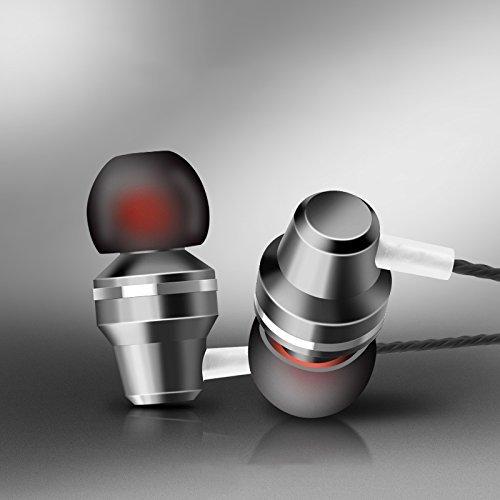 Wandregal Josi Minea 3,5mm Premium HD Kopfhörer-Stereo Kopfhörer Headset mit Lautstärke, Play/Pause Controller & integriertes Mikrofon, schwarz Blackberry Wired Stereo Headset