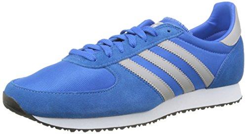 adidas Herren Zx Racer Sneakers, Blau Blau (Bluebird/Mgh Solid Grey/Ftwr White)