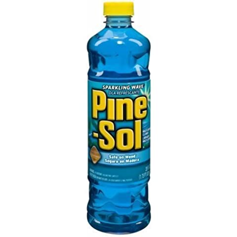 Pine-Sol Sparkling Wave For All Purpose Cleaner By Clorox - 28 Oz Each,12 /Pack by (Pine Sol All Purpose Cleaner)