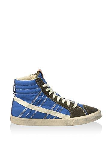 Diesel D-String, Chaussures en Forme de Bottines Homme Bleu