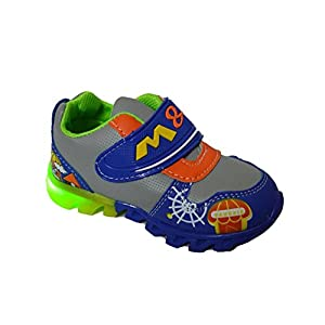 TeeniTiny LED Light shoes for kids - GREEN , BLUE & RED(12-18 months, 18-24 months & 2-2.5 years)