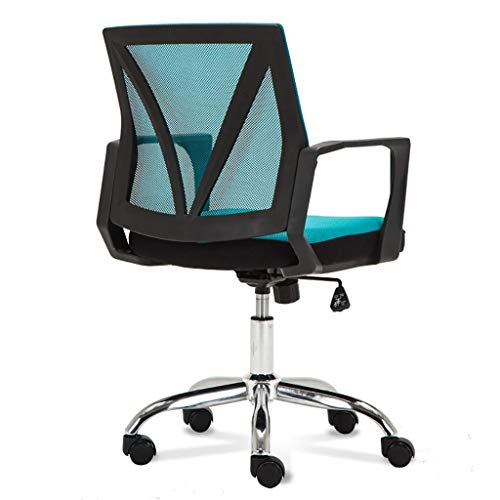 FAMILI DA Drehstuhl,Office Executive Mesh Lehrstuhl Für Computer Im Büro Schreibtisch Stuhl Ergonomische Drehstuhl Computer Stuhl (Farbe: A3)-A1 -