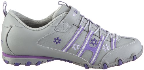 Skechers Liliana, Baskets mode fille Gris - Gris (Gypr)
