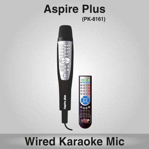 Persang Karaoke Aspire Plus PK-8161 Karaoke System with Remote, Black