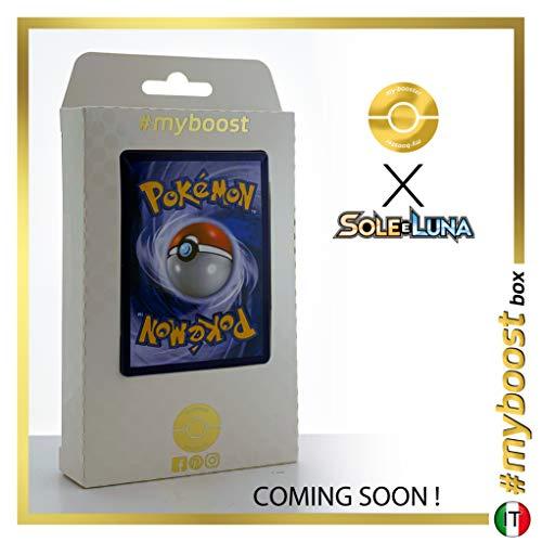 Arcanine 22/149 Holo Reverse - #myboost X Sole E Luna 1 - Box de 10 cartas Pokémon Italiano