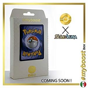 Muk di Alola (Muk de Alola) 58/149 Holo Reverse - #myboost X Sole E Luna 1 - Box de 10 cartas Pokémon Italiano
