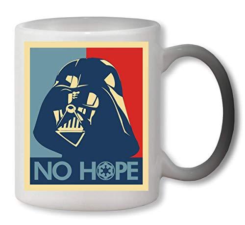 KRISSY Darth Vader No Hope Star Wars Heat Colour Changing Mug Cup Café Vaso