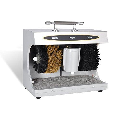 Limpiador De Zapatos Eléctrico, 150w, 1400 r / min (marrón y negro)