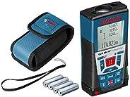 Bosch Professional GLM 250 VF Professional Laser Rangefinder, 0601072170, Black/Blue