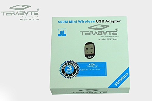 TERABYTE LAN WIFI 500 MBPS WIRELESS DEVICE Wireless USB Adapters