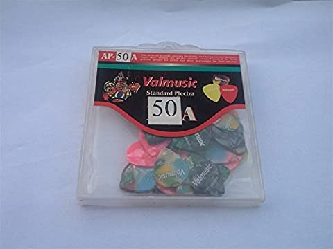 50 Picks valmusic Mother of Pearl Various Colours Little Pick 0. 58 C-058 – 50 – 7