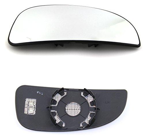 TarosTrade 57-0200-L-48193 Spiegelglas Heizbar Unteres Teil Links -
