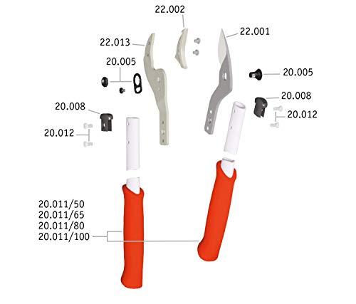 LÖWE Astschere gebogene Klinge - 2