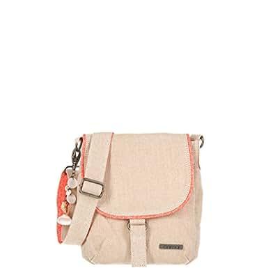 Animal Crossbody Drawstring Bag, Antique Cream LU6SJ323. S98. O/S