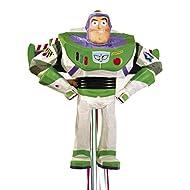 Zugpinata Buzz Lightyear di Toy Story, ca. 50x42x22cm, costume del partito Toystory Pullpinata