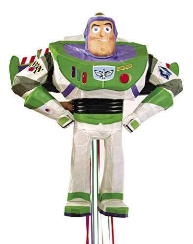 Disney Toy Story Buzz Lightyear Pinata, Pull String