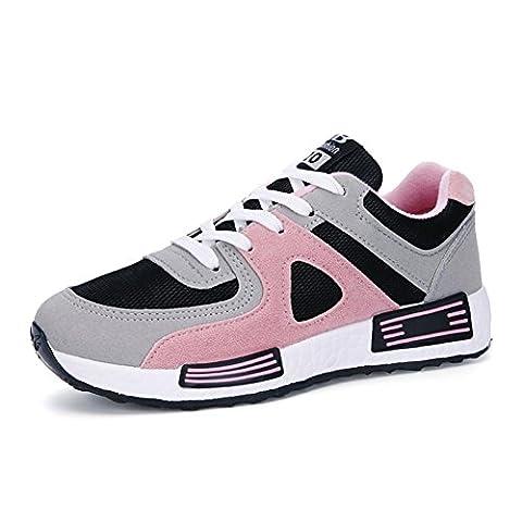 Damen / Mädchen Sport Casual Schuhe Frühjahr / Sommer / Herbst Mode Lace-up flachen Sneaker , pink ,
