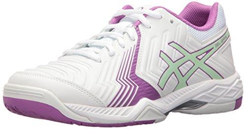 asics gel game 6 clay w rosa blanco e756y 1993