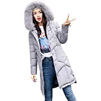 Geili Damen Winter Mantel Steppmantel Parka Jacke Warm Gesteppt Übergangsjacke Winterjacke mit Pelzkapuze Frauen... preisvergleich bei billige-tabletten.eu