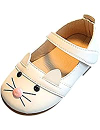 fd728c6fdbc Bebe Fille Princess Soiree Chaussures Ballerine Cuir Seule Chaussures Mary  Jane Chat EU20-24