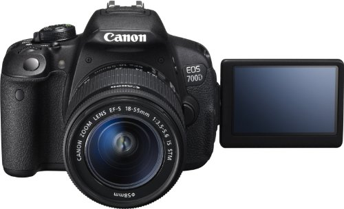 Canon EOS 8596B028 18 MP Digital SLR Camera with 10x Optical Zoom (Black)