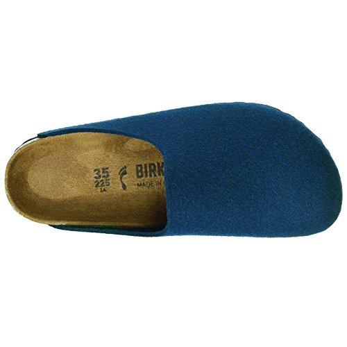 Birkenstock Womens Amsterdam Textile Sandals Navy